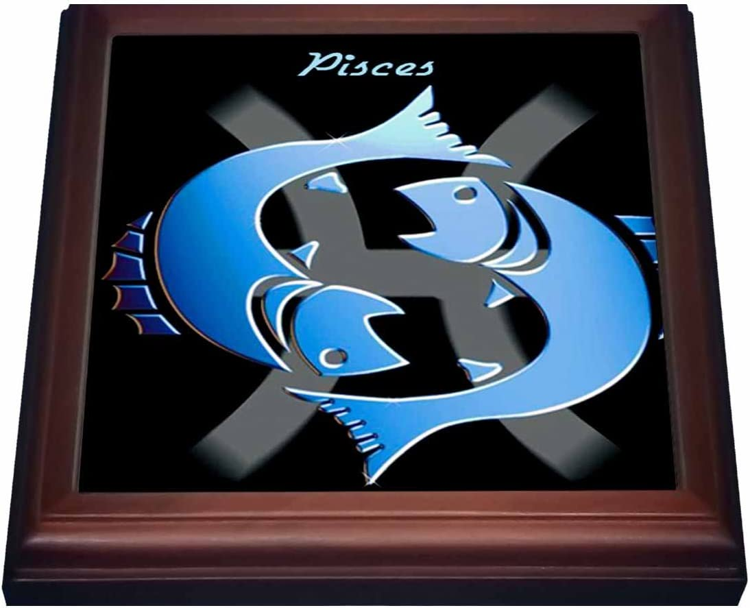 3dRose Pisces Zodiac Sign 2021 model Max 60% OFF Trivet with 8