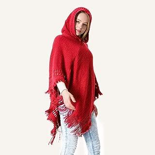 JJHAEVDY Women's Scarf Poncho Sweater Spring Autumn Shawl Cape Plush Warm Blanket Cloak Elegant Classy Coat