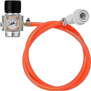 KKmoon CO2充電器 CO2ミニガスチャージャー ソーダウォータービールケゲレータ用0-90 PSIゲージ Size2