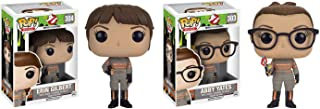 Funko POP Movies NEW Ghostbusters: Erin Gilbert and Abby Yates Toy Action Figure - 2 Piece BUNDLE