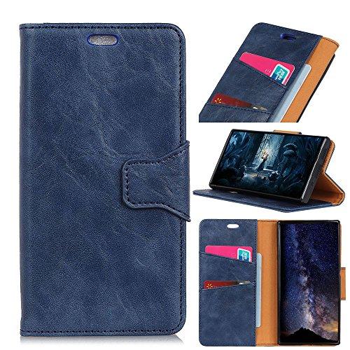 Anfire Huawei Honor 8X Hülle 360 Grad Schutzhülle,Ultra Dünn Leichteste Lederhülle Flip Brieftasche Handyhülle mit Magnet Standfunktion Premium PU Leder Schutzhülle für Huawei Honor 8X (6.5