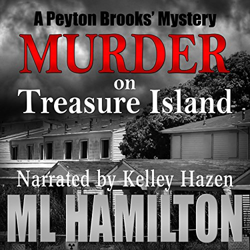 Murder on Treasure Island audiobook cover art