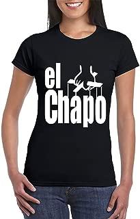 El Chapo Guzman in The Godfather Style T-Shirt