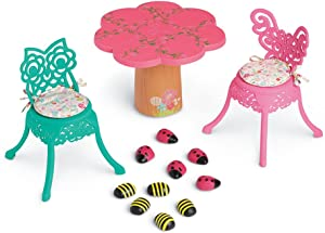 American Girl WellieWishers Garden Party Table & Chairs