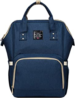 Aprince Practical Diaper Bag Backpack,11 Pockets Lightweight Diaper Bag