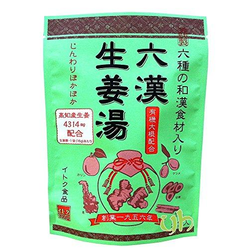 イトク食品『六漢生姜湯16g×5P』
