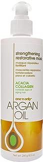 One N Only Argan Oil Restorative Mask 8.5 Ounce Tube (251ml) (3 Pack)