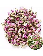 TooGet Pachnace Naturalne Rózowe Paki Rózy Platki Rózy Czysta Suszona Rosa Damascena Hurt, Culinary Food Grade - 115g