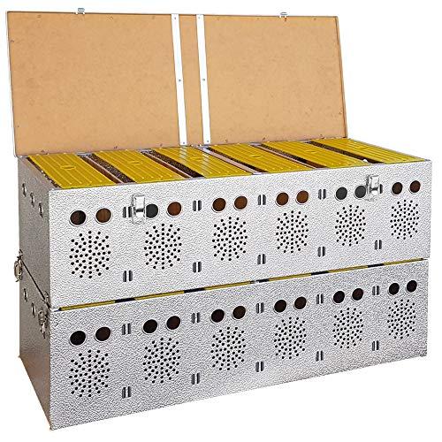 Breker Aluminium Transportkorb 12 Abteilungen - 2