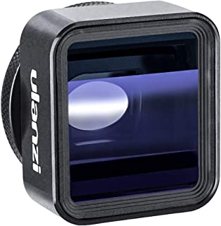 ULANZI 1.33X Anamorphic Lens Filmmaking Phone Camera Lens,Mobile Phone Widescreen Movie Lens by Filmic Pro App for iPhone 11 Pro Max Pixel Samsung Galaxy OnePlus Filmmakers Full Cinematic Video