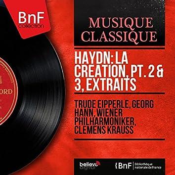 Haydn: La Création, pt. 2 & 3, extraits (Mono Version)