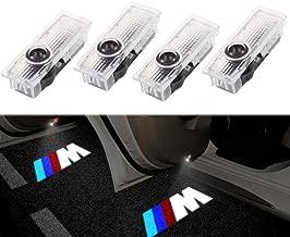 ALBRIGHT (4 piezas) Proyector LED de Puerta de Coche proyector Bienvenido l¨¢mpara luz (M serie, M///)