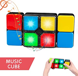 Magic Cube Puzzle Memory Maze Game Electronic Music Cube Toys for Kids Christmas Birthday Novelty Gifts