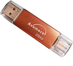 Avomoco 128GB USB Flash Drive for Android Phones,Tablets and PCs, Photo Stick for Android Phone,for Samsung Galaxy S7/S6/S5/S4/S3/Note5/4/3/2,A7/A8/A9,C5/C7 etc.(for Micro Port.Not for iPhone)