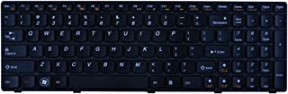 ACOMPATIBLE Keyboard for Lenovo IdeaPad Z570 Z575 V570 B570 B570A B570G B575 V570C Series Black Keys Black Frame US Layout