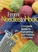 convert crochet to knit