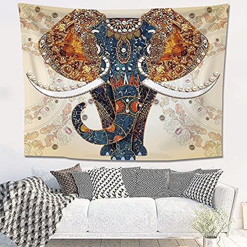 YDyun Tapiz Pared,Tapiz de tapices de Pared de algodón,Colcha de pícnic,Tapices Decorativos Tela de Fondo de Tela Colgante Decorativa Retro