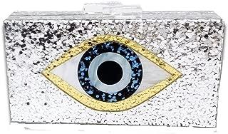 Boutique De FGG womens MIL0902 Acrylic Evening Bag
