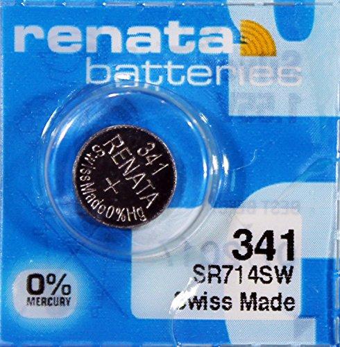 Renata / Swatch Group - Knopfzelle Silberoxid 341 RENATA 1.55V 15mAh - Blister(s) x 1