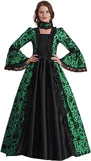 Abaowedding Women's Victorian Rococo Dress Inspiration Maiden Costume Vintage Dress