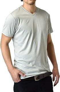 (アルージェ) ARUGE Vネック クルーネック 感動ドライ 吸汗速乾 接触冷感 UVカット UPF50+ 半袖 Tシャツ 脇汗対策 ラッシュガード 水陸両用 メンズ mens / H1V