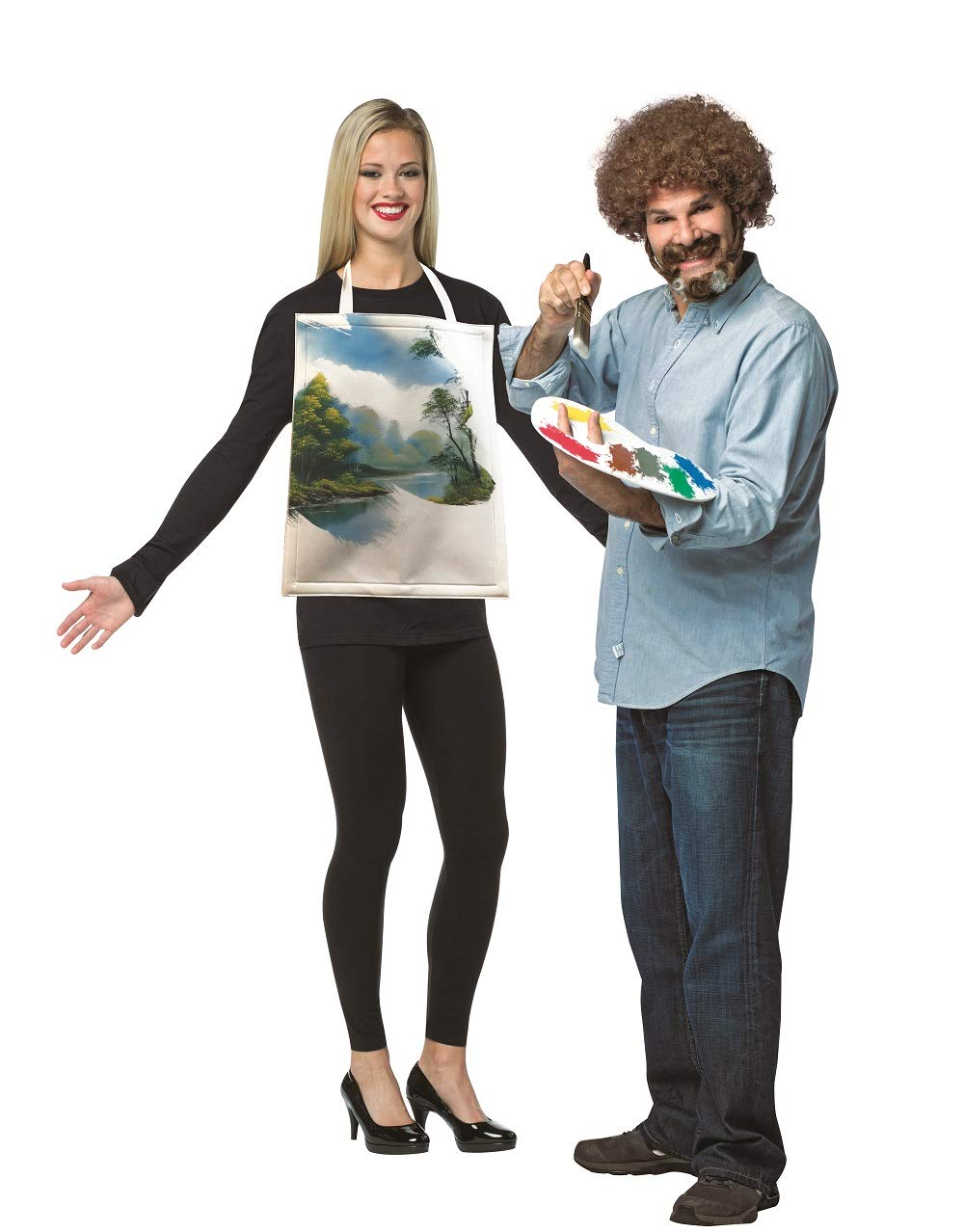 Bob Ross With Painting Kit
