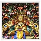 Danita Delimont–Ellen Clark–Religion–Jammu and Kashmir、ラダック、Stok、仏像at Stok Palace–グリーティングカード Set of 12 Greeting Cards