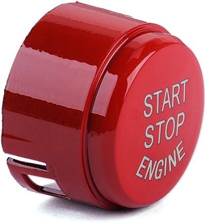 Keenso Start//Stopp-Schalter f/ür den Auto-Motor Knopfdeckel f/ür G F Fahrgestell F20 F21 F22 F23 F30 F31 F32 F33 F10 F11 G30 F12 F13 F01 F02 Blau