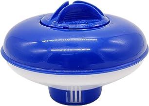 Dispensador de desinfección de piscinas, dispensador automático de productos químicos para piscinas, limpieza de piscinas, fondo retráctil, dispensador de 5 pulgadas (con pastillas de 1,5 pulgadas)
