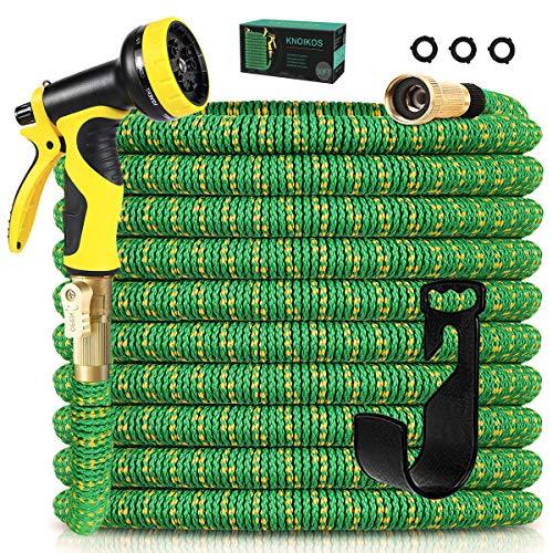 可扩展50 英尺花园软管+10功能喷嘴