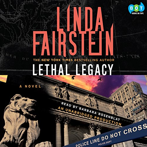 Lethal Legacy  audiobook cover art
