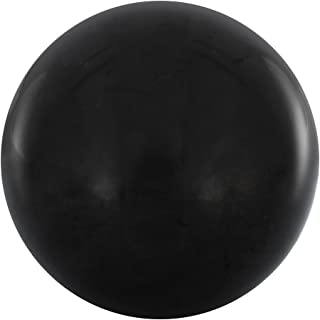 Polished Shungite Sphere 2.75 Inches, Contains Fullerenes for EMF Protection | Authentic Karelian Shungite Stone Figure Used for Meditation and Energy Balance | 2.75 Inch Sphere, Polished