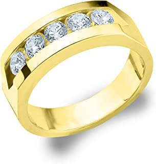 Best men's 5 stone diamond ring Reviews