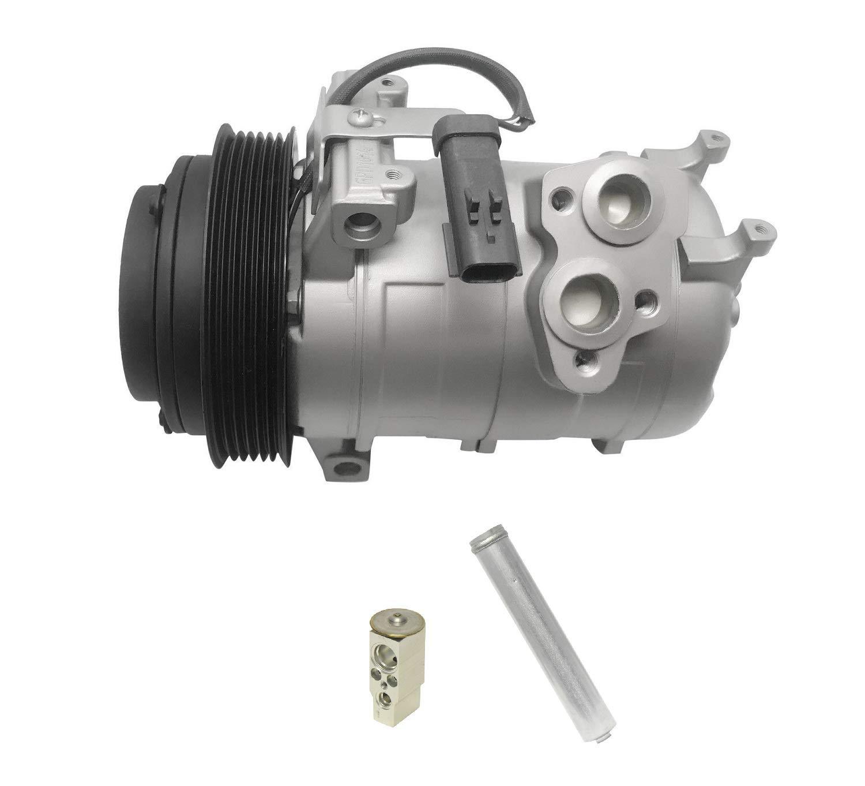 AC Compressor /& A//C Clutch For Dodge Charger Magnum Chrysler 300 3.5L V6 2007 2008 2009 2010 BuyAutoParts 60-01941NA NEW