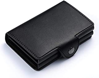 Automatic Smart Wallets - Anti-Theft 20 Cards Capacity - Black