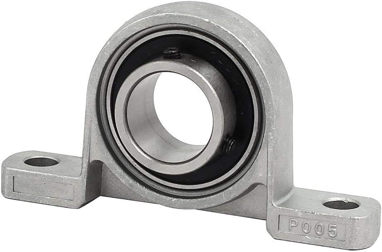 KP005 25mm Bore Zinc Alloy Self-aligning Flange Mounted Pillow Block Bearing