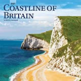 Coastline of Britain 2021 12 x 12 Inch Monthly Square Wall Calendar, UK United Kingdom Ocean Sea Scenic Nature