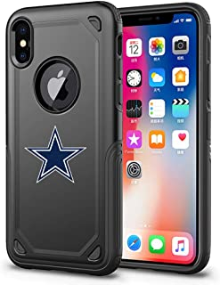 Xs Max Case Cover Hybrid Armor Tough Shell with Air Cushion Technology and Secure Grip Heavy Duty Protection Compatible with XS Max 6.5-inch