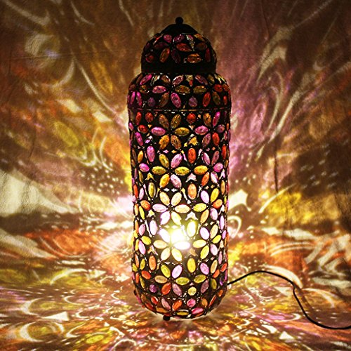 Staande lamp vloerlamp licht droom, wit/kleur Optionele projectie sterke sofa woonkamer slaapkamer koffie LED (color: Multi-colored)