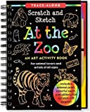 At the Zoo Scratch & Sketch (An Art Activity Book for Animal Lovers and Artists of All Ages) (Trace-Along Scratch and Sketch) by Lee Nemmers (2011) Spiral-bound