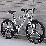 RICHLN Shimanos 21 Speed Bicycle Full Suspension Mtb Bikes,Folding Mountain Bike,High Carbon Steel