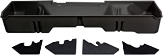 DU-HA Under Seat Storage Fits 07-13 Chevrolet/GMC Silverado/Sierra Extended Cab, Dk Gray, Part #10045