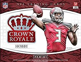 2015 Panini Crown Royale Football Hobby Box (4 Packs of 5 cards, 2 Autographs, 2 Memorabilia Cards) (Release Date 12/02/15)