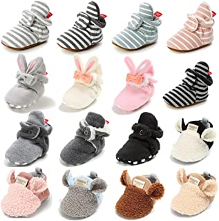 baby booties that don t fall off