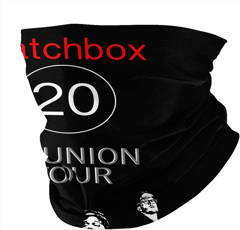 Matchbox Twenty Men Women Neck Gaiter Multifunctional Uv Protection Face Mask Fashion Scarf Fashion Bandana Hiking Headwear Neck Scarf Balaclava