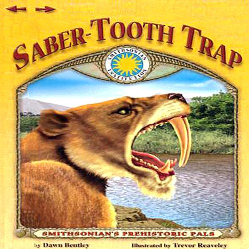 Saber-Tooth Trap audiobook cover art