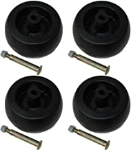 4 Pack Riding Lawn Mower Deck Wheels & Bolts for Craftsman 193406 174873 133957