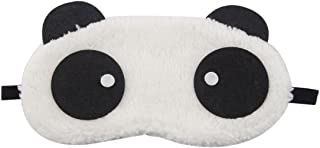 FOREVER YUNG Black White Panda Design Mouth Eye Mask for Children