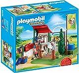 Playmobil- Boîte de Lavage pour Chevaux, 6929