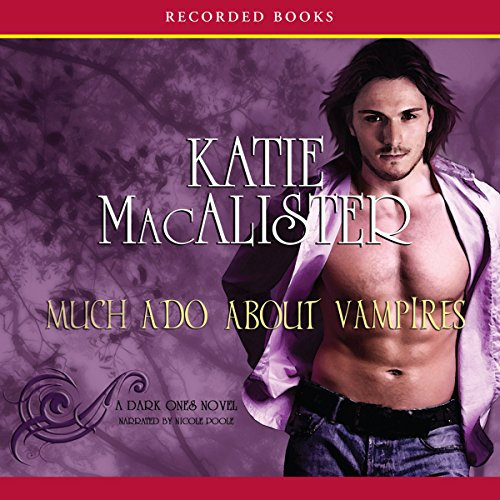Much Ado About Vampires audiobook cover art